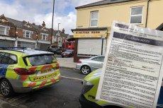 Londyńska policja prewencyjnie zamknęła lokal, w którym miało odbyć sie spotkanie z Marianem Kowalskim z Ruchu Narodowego.