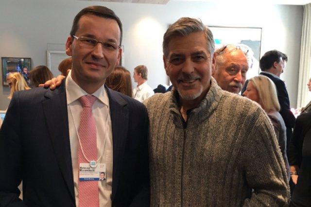 Mateusz Morawiecki w Davos spotyka się nie tylko z politykami i przedsiębiorcami