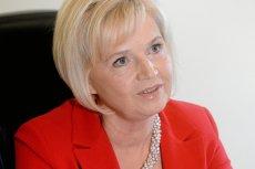 Lidia Staroń, niezależna senator wstrzymała się od głosowania nad kandydaturą Tomasza Grodzkiego na marszałka Senatu.