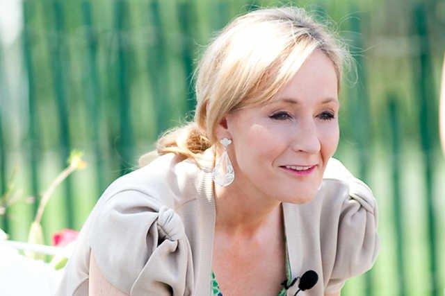J.K. Rowling czyta dzieciom pod Białym Domem fragment swojej książki o Harrym Potterze