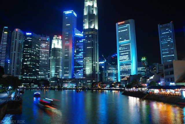 Zatoka w centrum Singapuru