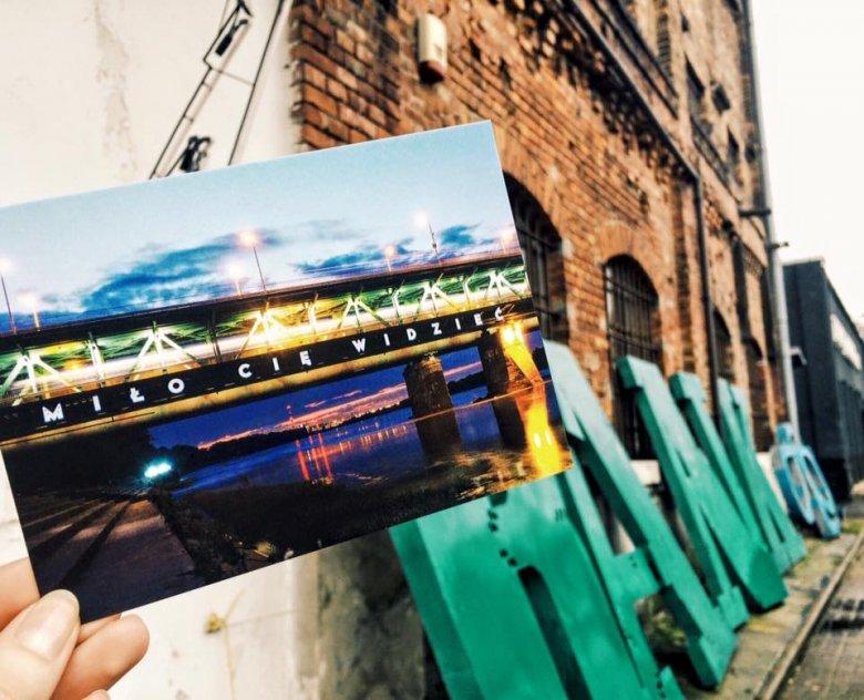 """To dzięki inicjatywie warszawskiego Muzeum Neonów Most Gdański zdobi napis """"Miło Cię widzieć"""""""