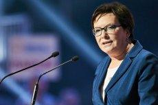 Ewa Kopacz nową wiceprzewodniczącą PE.