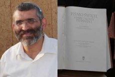 Poseł Knesetu Michael Ben-Ari, który dopuścił się zniszczenia Biblii