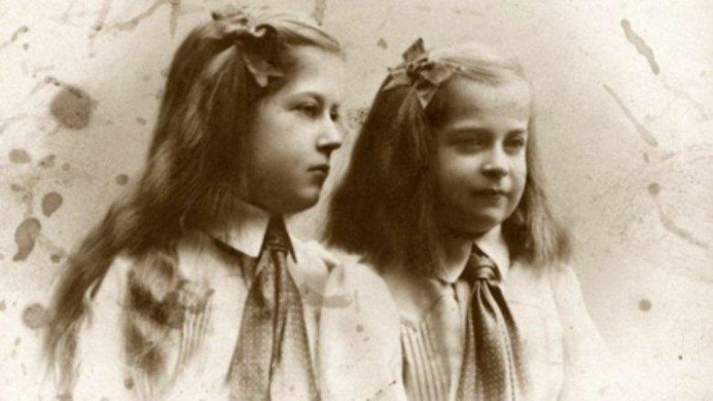 Maria i Magdalena jako dzieci