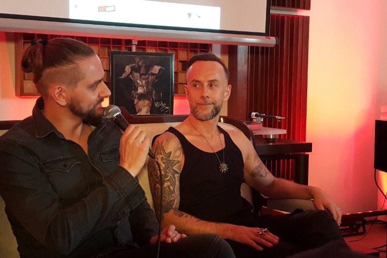 Nergal podziękował burmistrzowi Szczecinka za to, że nie ugiął kolan przed Kościołem, który protestuje przeciwko występowi Behemotha na MateriaFest.