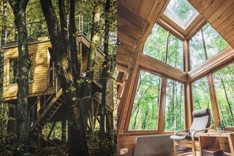 Domki w Nałęczowie to nowoczesna architektura w sercu natury