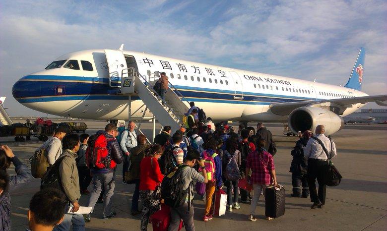 Samolot z Pekinu do Manili zatrzymuje się w Xiamen.