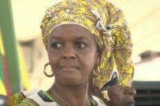 Grace Mugabe, żona prezydenta Zimbabwe, po rezygnacji Roberta Mugabego, też musi pożegnać się z władzą.