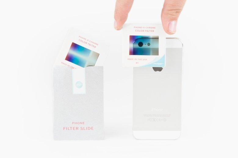 Miniaturowa koperta z filtrem idealnie pasuje pod case'y do większości telefonów.