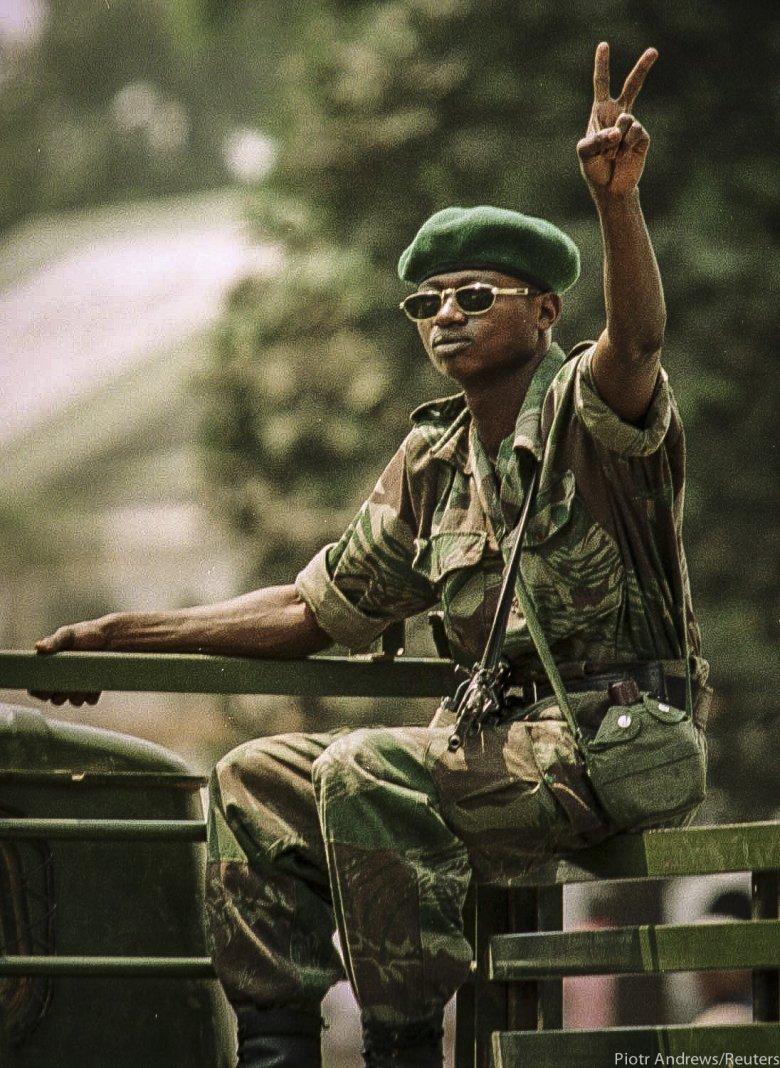 Żołnierz Laurenta Kabili