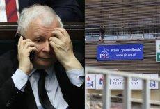 Jarosław Kaczyński i jego podwładni póki co nie wyprowadzają się z gmachu przy Nowogrodzkiej.