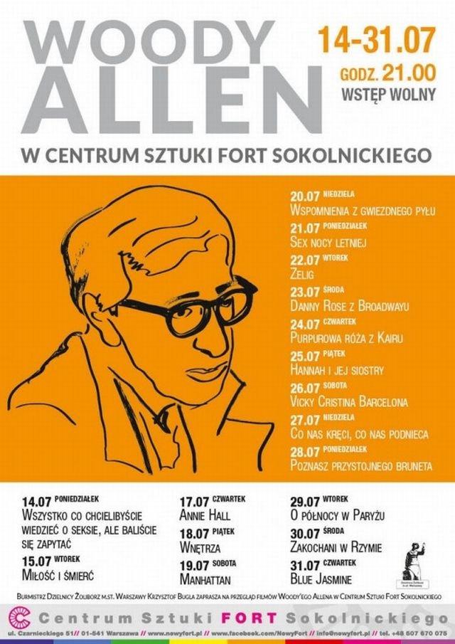 Woody Allen na Żoliborzu