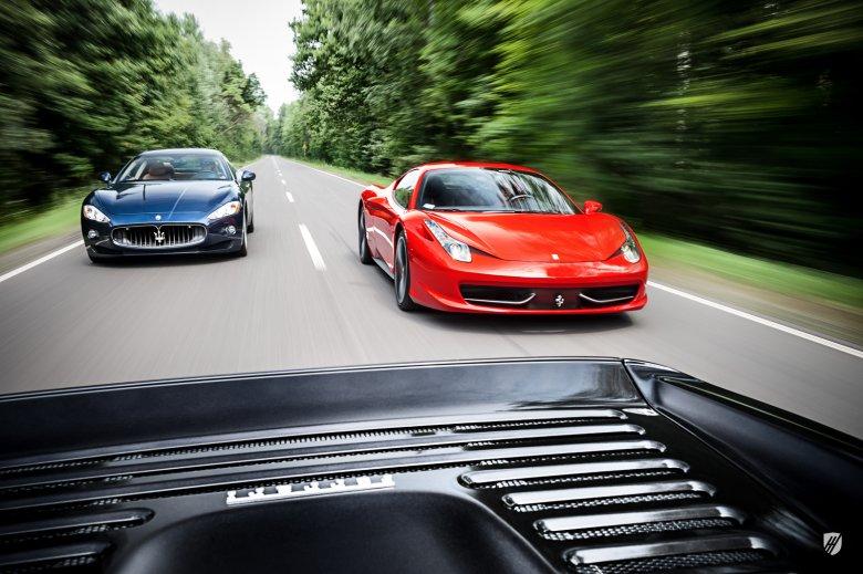 Historia upewnia nas, że prawdziwym rywalem dla Ferrari było Maserati, nie Lamborghini.