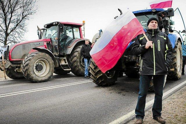 Polska ziemia tylko dla Polaków - postulują protestujący rolnicy