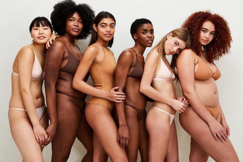 Modelki o różnych rozmiarach pozwalają kobietom zrozumieć, że nie trzeba mieć ciała modelki, aby wyglądać sexy