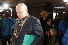 Prezes NBP Adam Glapiński jest coraz bardziej poirytowany pytaniami dziennikarzy
