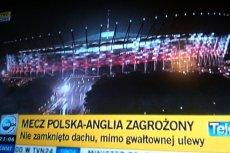 Stadion Narodowy przed meczem Polska - Anglia