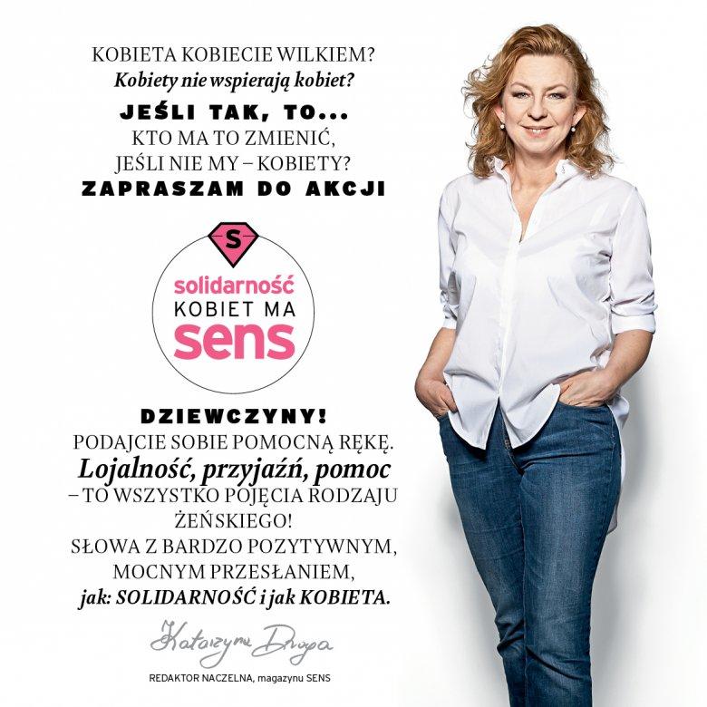 Katarzyna Droga - redaktor naczelna magazynu SENS