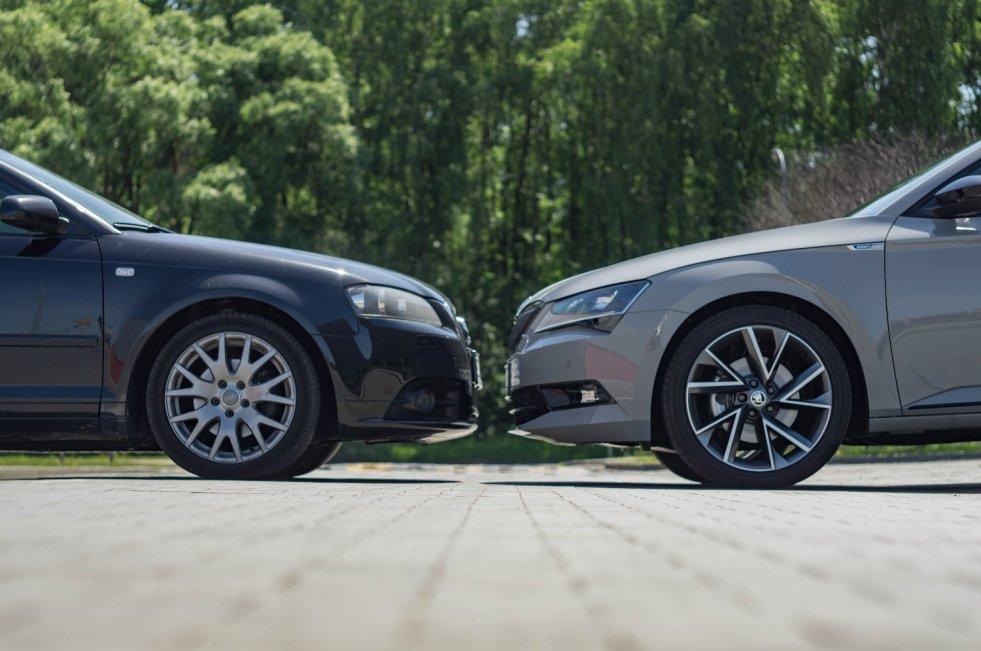 Sprawdziliśmy, czy fani BMW, Audi i Mercedesa odnajdąsię za kierownicą Skody.