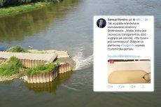 TVP Info straszy skażoną wodą w kranie. Awaria oczyszczalni nie ma jednak jakiejkolwiek fizycznej styczności z warszawskim Śródmieściem