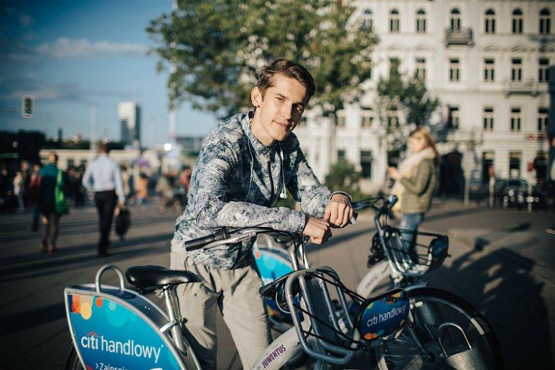 Mykoła: W Kijowie rowerów miejskich brak