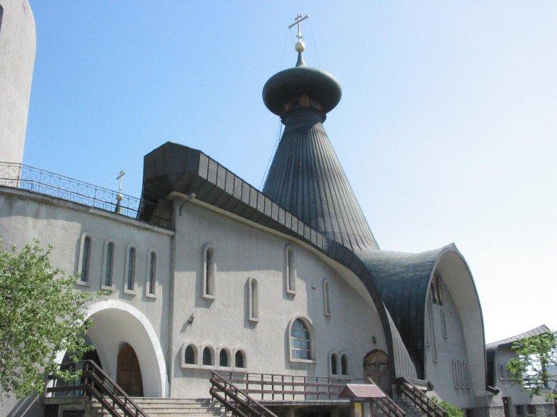 Cerkiew św. Trójcy w Hajnówce.