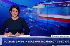 """""""Wiadomości"""" TVP uderzyły w życie rodzinne Adama Bodnara."""