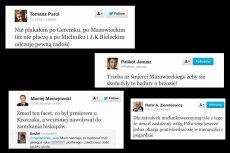 Na Twitterze po śmierci Tadeusza Mazowieckiego rozpętały się ostre, polityczne dyskusje.