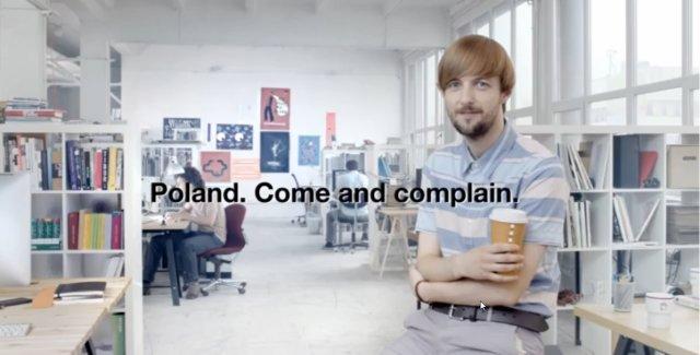 Stopklatka z kampanii Polski