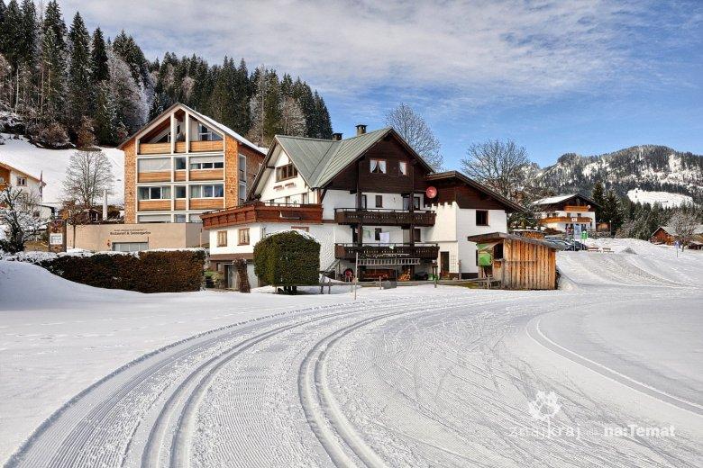Trasa dla narciarstwa biegowego w Hierschegg