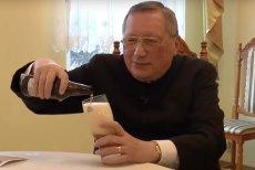 """Ks. Roman Kneblewski opublikował w internecie film z katechezą: """"Czy jest coś złego w piciu napojów alkoholowych?"""". Zainspirował go anonim, jaki w jego sprawie dotarł do kurii."""