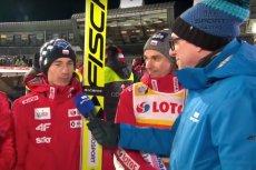 Po konkursie w Zakopanem, Kamil Stoch powiedział uszczypliwy komentarz w kierunku dziennikarza TVP Sport.