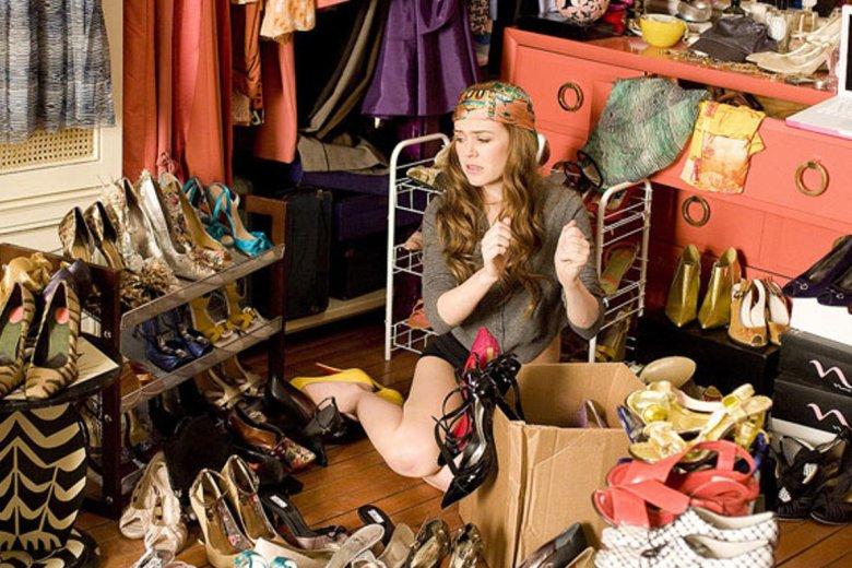 Kobieta nigdy nie ma wystarczająco dużo butów
