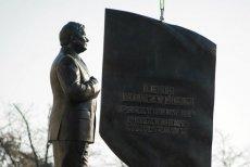 Odsłonięcie pomnika Lecha Kaczyńskiego było okazją do pochwał pod adresem zmarłego prezydenta