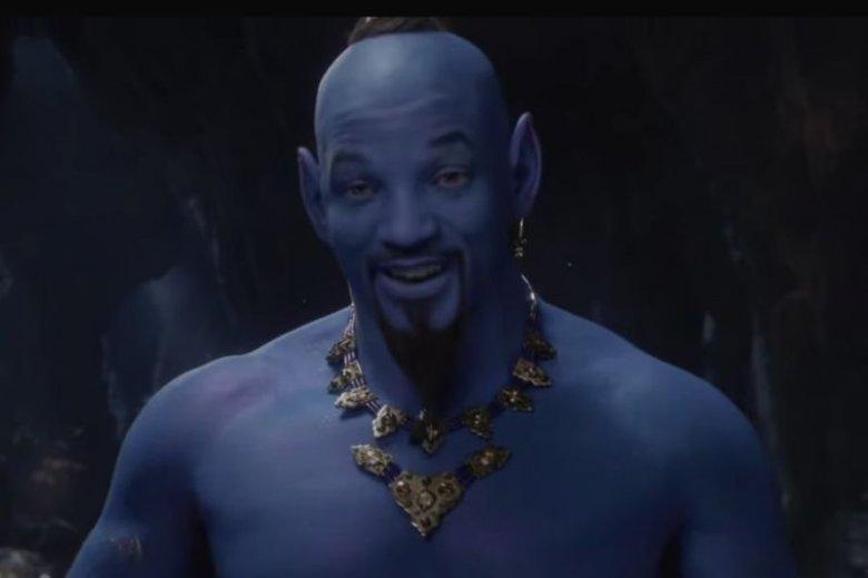 Will Smith pokazał się w roli Dżina i od razu wywołał salwę internetowej beki.