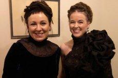 """Amanda Lind, szwedzka minister kultury, spotkała się Olgą Tokarczuk. """"Wyglądają jak siostry"""" – komentują internauci."""