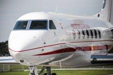 Na pokładzie rządowego Gulfstreama doszło do awarii, samolot lądował awaryjnie na Okęciu.
