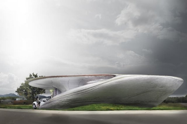 Zgłoszony do konkursu projekt drukowanego w 3D domu, który może mieć dowolny kształt