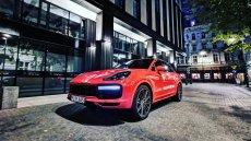 Cayenne coupe to najnowsza odsłona popularnego SUV-a od Porsche.