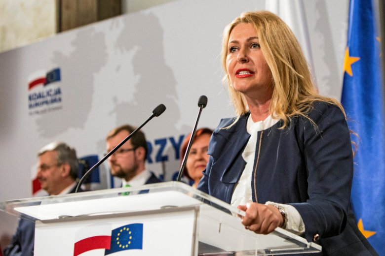 Elżbieta Łukacijewska jako jedyna z KE dostała się do PE.