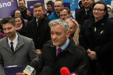 Marta Lempart (pierwsza z prawej) wystartuje z szóstego miejsca na liście Wiosny do Europarlamentu. Listę otwiera Krzysztof Śmiszek (pierwszy z lewej), prywatnie partner Roberta Biedronia.