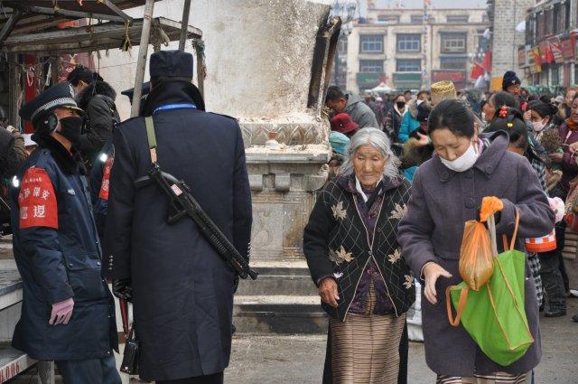 Ulica w Lhasie