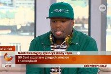 """50 Cent był gościem programu """"Dzień dobry TVN"""""""