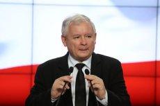 Jarosław Kaczyński zagrzewał do obrony niepodległości.