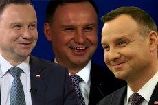 Andrzej Duda lubi sięśmiać z własnych żartów.