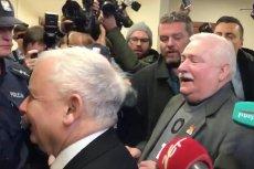 Kaczyński i Wałęsa spotkali sięw sądzie. Na korytarzu doszło do nietypowej wymiany zdań.