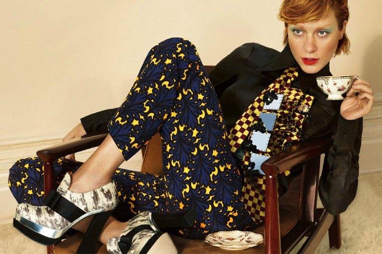 Chloë Sevigny w kampanii marki Miu Miu, jesień-zima 2012/13