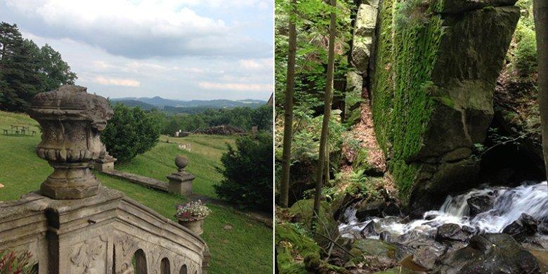 W sąsiedztwie domu lasy, wąwozy, fortyfikacje, pałace, targi staroci i przepiękna architektura.
