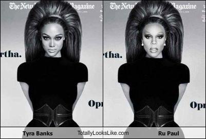 RuPaul i Tyra Banks